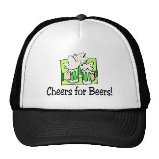 Cheers For Beers St Patty Day Hats
