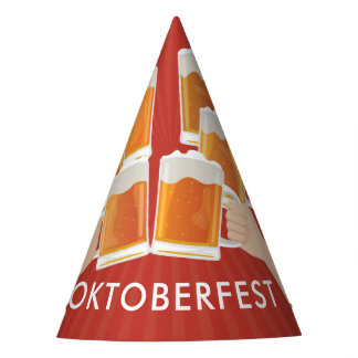 Cheers for Oktoberfest! Beers for Everyone! Party Hat