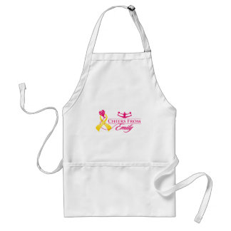 Cheers From Emily Adult Apron