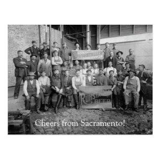 Cheers from Sacramento, CA! (1) Postcard