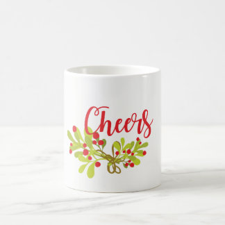 Cheers Get Your Merry On Holiday Mug