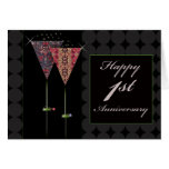 Cheers - Happy 1st Anniversary Cards
