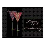 Cheers - Happy Anniversary Postcard