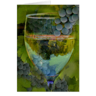 Cheers Happy Birthday Wine Card! Greeting Card