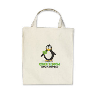 Cheers Happy St. Patty's Day Canvas Bag