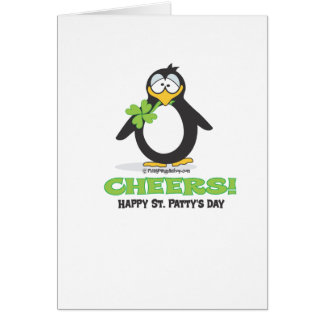 Cheers Happy St. Patty's Day Greeting Card