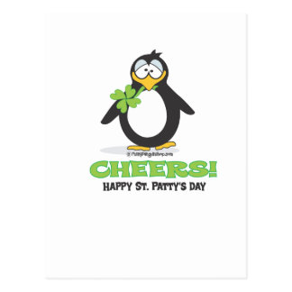 Cheers Happy St. Patty's Day Postcards