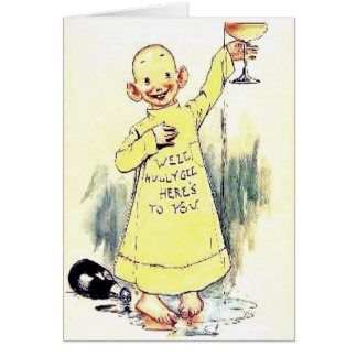 Cheers - Here's To You Card
