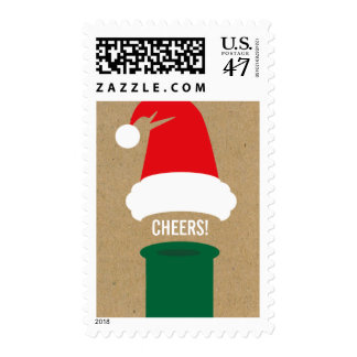 Cheers Holiday Party Postage