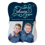 Cheers Holiday Photo Card Christmas Card Invite