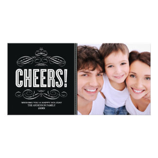 CHEERS! | HOLIDAY PHOTO CARD