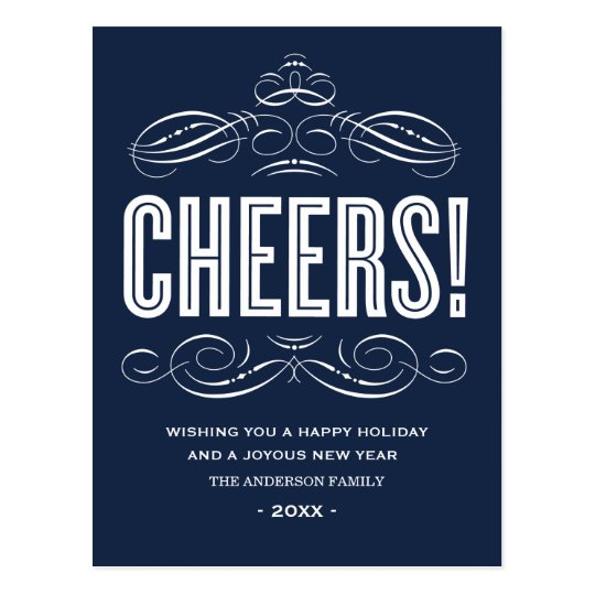 CHEERS! | HOLIDAY POST CARD
