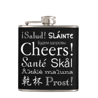 """""""Cheers"""" in Many Languages Flask"""