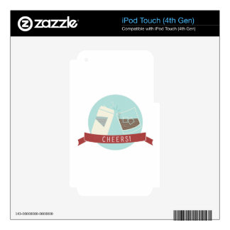 Cheers! iPod Touch 4G Skin