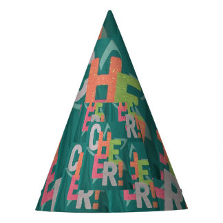 CHEERS kids childrens Party Hat birthday camp