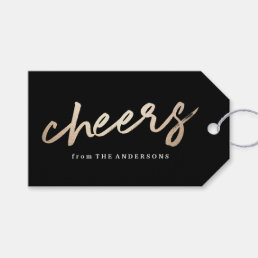 Cheers Luxe | Holiday Gift Tag
