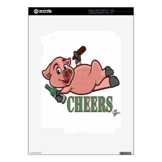Cheers Pig iPad 2 Skins