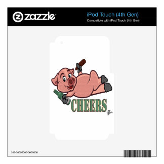 Cheers Pig iPod Touch 4G Decals