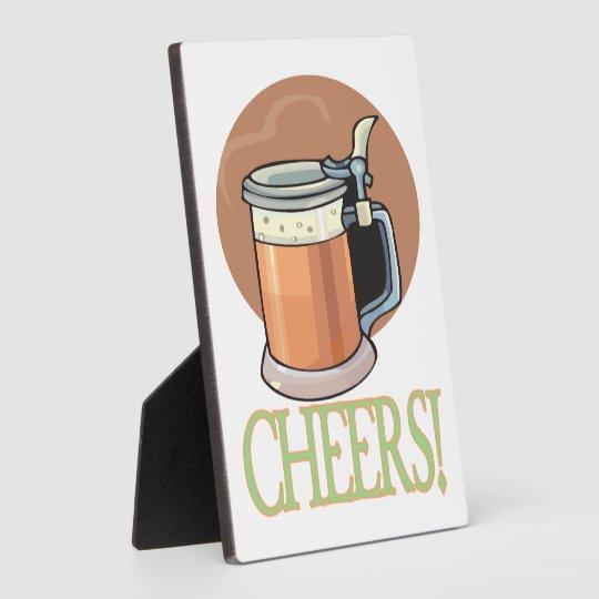 Cheers Plaque