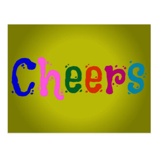 Cheers Post Card