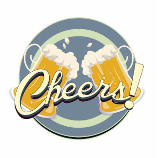 Cheers! Pub Sign Acrylic Cut Out