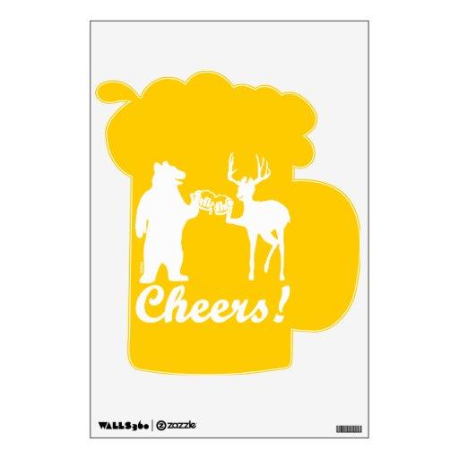 Cheers ! room decals