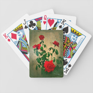 Cheers,Roses of Love_ Bicycle Playing Cards