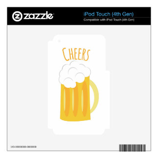 Cheers Decal For iPod Touch 4G