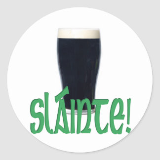 Cheers Round Sticker