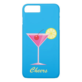 Cheers Summer Cocktail iPhone 7 Plus Case
