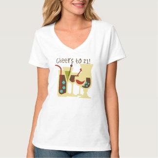 Cheers to 21 Birthday T-Shirt