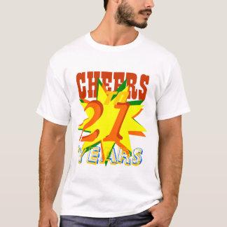Cheers To 21 Years T-Shirt