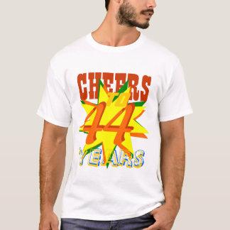 Cheers To 44 Years T-Shirt