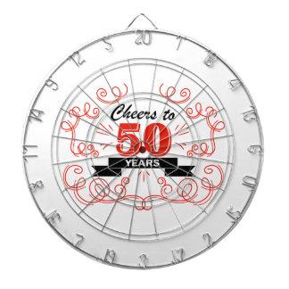 Cheers to 50 years dartboard