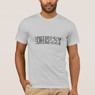 Cheers to 50th Anniversary Gifts-Party T-shirts