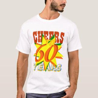 Cheers To 60 Years Birthday T-Shirt