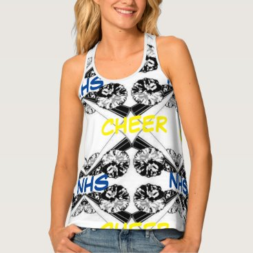 Beach Themed Cheers to Camp Tank Top