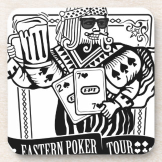 CHEERS TO EASTERN POKER TOUR BEVERAGE COASTER
