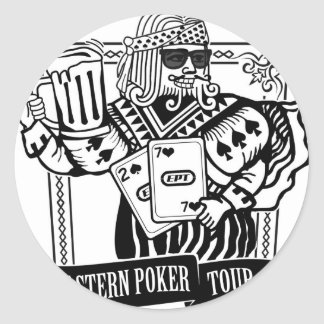 CHEERS TO EASTERN POKER TOUR CLASSIC ROUND STICKER