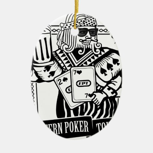 CHEERS TO EASTERN POKER TOUR CHRISTMAS TREE ORNAMENTS