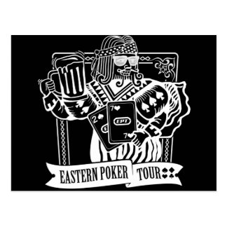 CHEERS TO EASTERN POKER TOUR POSTCARD