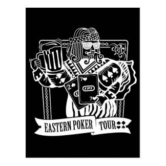 CHEERS TO EASTERN POKER TOUR POSTCARD