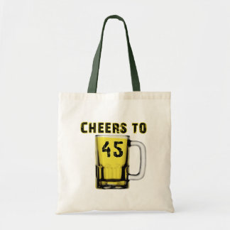 Cheers to Fourty Five Birthday Bags