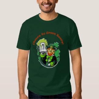 cheers to green beers tshirts