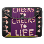 Cheers to Life -  Artist crafted Motifs MacBook Pro Sleeve