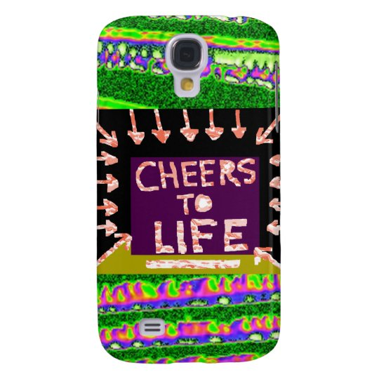 Cheers to Life - Artist crafted Motifs Samsung Galaxy S4 Cover