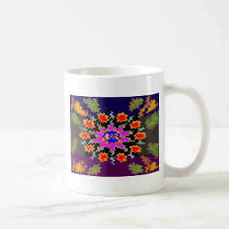 CHEERS to Life - Floral and Text Patterns Coffee Mug