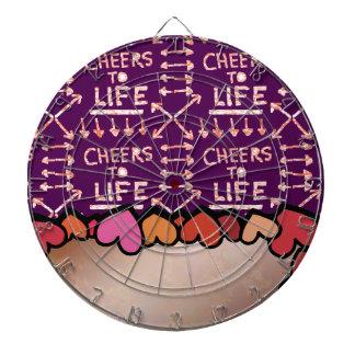 CHEERS to Life : Text Box / Editable Text Greeting Dartboard