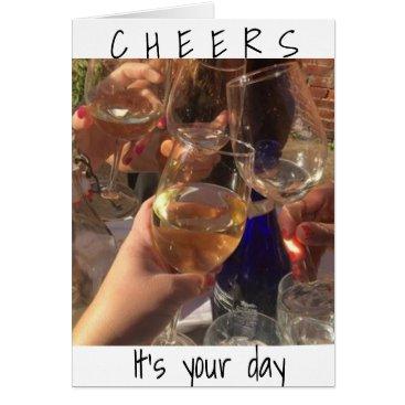 friendshipandfun **CHEERS** TO THE ****BEST BIRTHDAY YET*** CARD