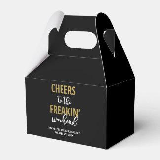 Cheers to the Freakin' Weekend Survival Kit Box